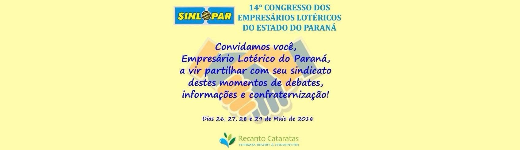14º Congresso - SINLOPAR