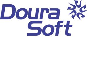 Logo - DouraSoft - Azul